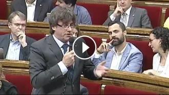 Vés a: VÍDEO La irònica resposta de Puigdemont a la mare andalusa d'Arrimadas