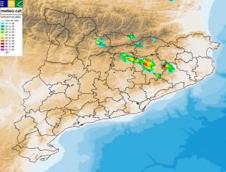 Vés a: Tarda de tempestes a l'interior i al nord de Catalunya