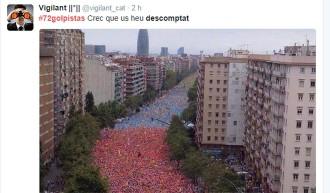 Vés a: L'etiqueta #72golpistas es converteix en el tema més comentat a Twitter