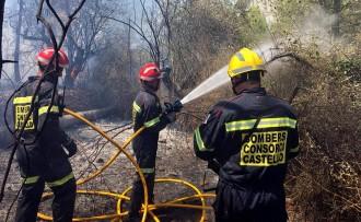 Vés a: Estabilitzat l'incendi d'Artana, a Castelló, després de cremar 1.600 hectàrees