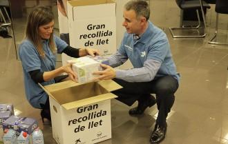 Vés a: «Cap nen sense bigoti» recull 550.000 litres de llet per a les famílies amb pocs recursos a Catalunya
