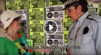 Vés a: VÍDEO El rap de l'àvia de la PAH contra el BBVA