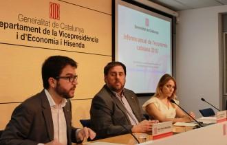 Vés a: Junqueras reclama a l'Estat que no posi «pals a les rodes» del creixement econòmic català
