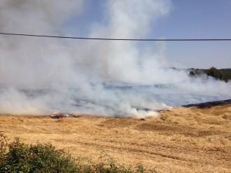 Vés a: Estabilitzat un incendi de vegetació agrícola a Lladurs al Solsonès