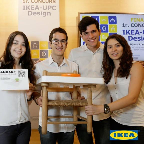 El solsoní Marc Garcia Jané, finalista del 1er Concurs IKEA-UPC Design