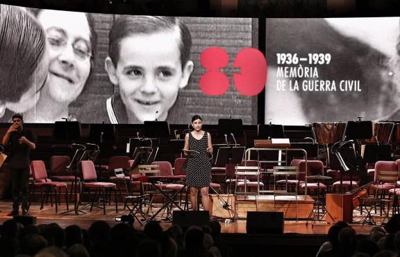 Commemoració dels 80 anys de l'inici de la Guerrra Civil
