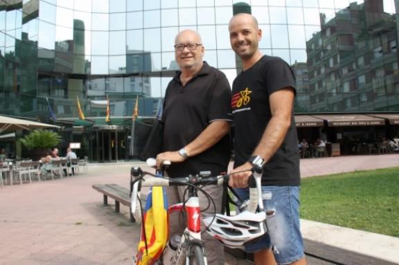 Recorreran en bici tots els municipis de Catalunya per animar a la independència