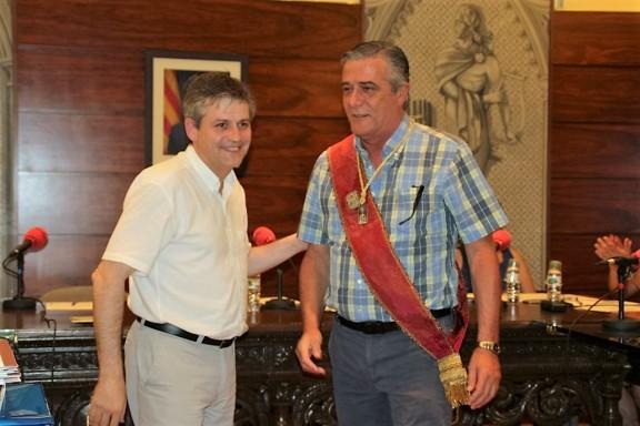 Xavier Torres i Romero pren possessió del càrrec de regidor de l'ajuntament
