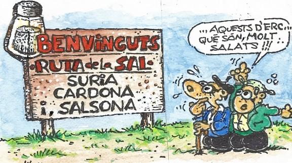 ...Súria, Cardona i Solsona es promocionaran mútuament!!!!