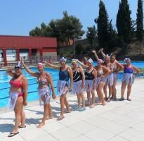 Una trentena de participants a les activitats per a adults de les piscines municipals