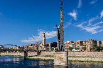 Vés a: Ferran Bel: «Estem treballant des de la discreció per reinterpretar el monument franquista»