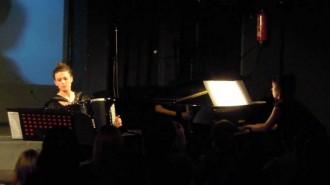 Garazi Goñi i Roser Gabriel, al Festival de Música de Rialp