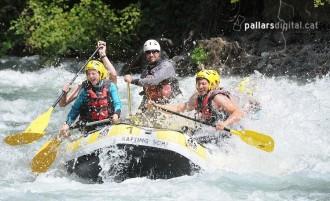 Sortegem un descens en ràfting per a dos persones amb Rubber River!