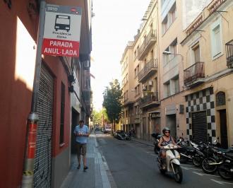 Vés a: Unes obres deixen el centre de Gràcia sense autobús durant un any