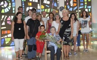 L'Ajuntament de Manresa homenatja Joana Ferré, que ha complert 100 anys