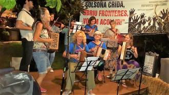 Gran èxit de la Festa Folk solidària