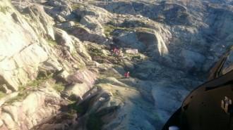 Els Bombers rescaten dos excursionistes a Mont-rebei i Lladorre