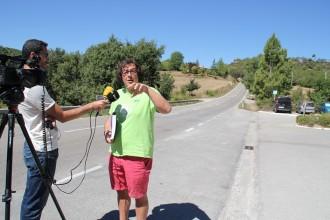 Solsona reclama a la Diputació de Lleida que reasfalti el primer tram de la carretera LV-4241 per fer-la més segura