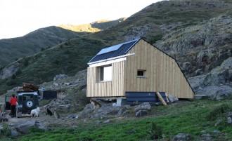 Finalitzada la construcció de la cabana de pastor a Bonabé