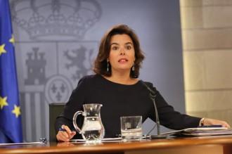 Vés a: Sáenz de Santamaría: «L'acord entre el PP i C's es tancarà en les properes hores»