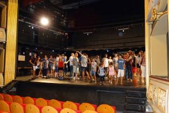 Prop de 2500 persones visiten el Teatre Conservatori durant tres tardes
