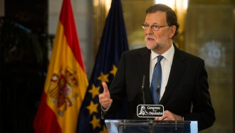 Vés a: Rajoy repeteix l'intent fracassat de Sánchez per ser investit