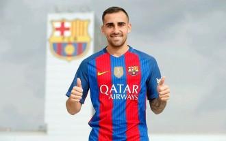 Vés a: El Barça confirma el fitxatge de Paco Alcácer per 30 milions d'euros
