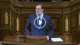 Vés a: VÍDEO en DIRECTE Discurs de Rajoy d'una investidura condemnada al fracàs