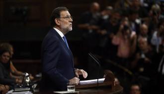 Vés a: Rajoy apel·la insistentment a la unitat d'Espanya per ser investit president