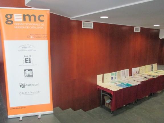 Exposició de partitures musicals al Teatre Comarcal