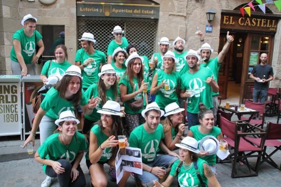 El Bar Castell omple de festa i rauxa el nucli antic de Solsona