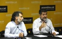 Vés a: Jordi Cuixart: «Si hi ha algú que estigui bloquejat per la por, demanem que s'aparti»
