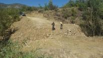 Multat per obrir un camí sense autorització a Gavet de la Conca