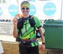 Albert Moreno de l'Equip de Curses i Marxes del CES ha participat a la marató Ultra Pirineu