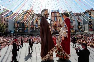 Unes Festes del Tura multitudinàries tot i que la pluja esguerrés alguns actes