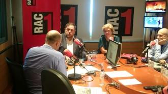 Vés a: Jordi Basté, a l'expectativa de poder parlar amb Junqueras en directe des de la presó