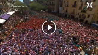 Vés a: VÍDEO en DIRECTE La Diada castellera de Santa Úrsula