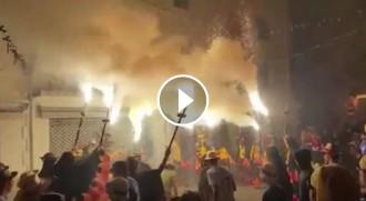 Nit de foc a Sitges