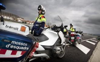 Mossos té només una agent de trànsit per a les nits del Bages, Berguedà i Solsonès