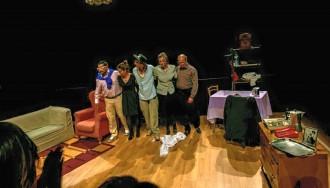 La companyia «A Galet», finalista en una mostra nacional de teatre aficionat