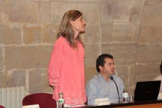 Isabel Pérez pren possessió del càrrec de consellera comarcal