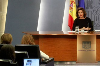 Vés a: Santamaría creu que la querella contra Adif avala la via dels tribunals per resoldre conflictes