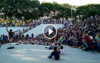 Vés a: VÍDEOS La Mercè posa el parc de la «Trini» en el mapa de Barcelona