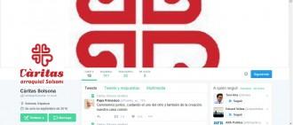 Càritas Parroquial de Solsona s'estrena a les xarxes socials
