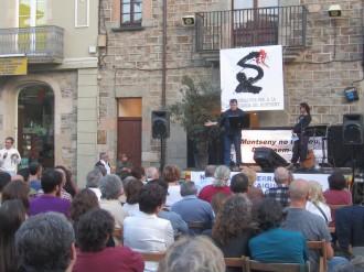 Vés a: Una trentena d'entitats ecologistes defensen el Montseny a Sant Celoni