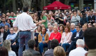 Vés a: Euskadi i Galícia castiguen la via Sánchez