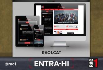 Vés a: RAC1 estrena un web que dóna prioritat a la informació