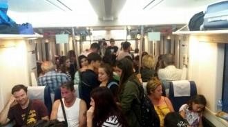 Vés a: Una dona de 80 anys es trenca el maluc per una frenada del tren a la Ribera d'Ebre
