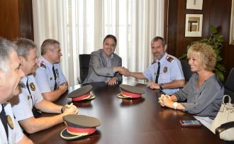 Eduard Cuenca substitueix Joan Carles Escobar com a cap dels Mossos a Manresa