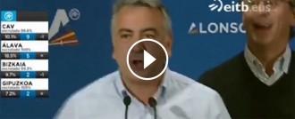 Vés a: VÍDEO El PP basc celebra la patacada electoral